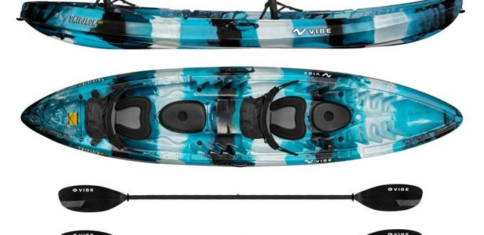 Vibe Kayaks Skipjack 120T - best kayak for the money