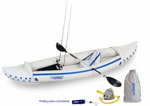 Sea Eagle SE370 - best kayak for fishing