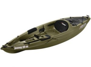 sun dolphin journey - best kayak for lakes