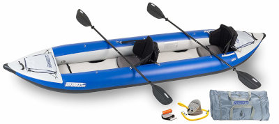 sea eagle 420x - best camping kayaks